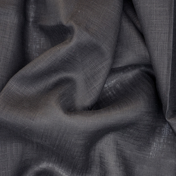 black handkerchief linen fabric product photo