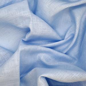 blue handkerchief linen fabric product photo