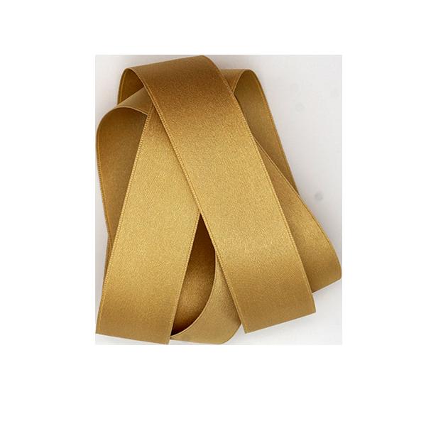 gold silk satin ribbon