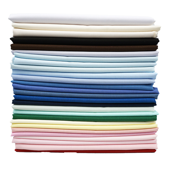 imperial batiste fabric stack of all colors product photo